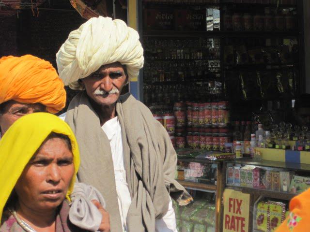 man turban white