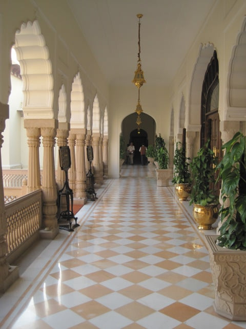Taj Rambagh Hotel, one of my favorites