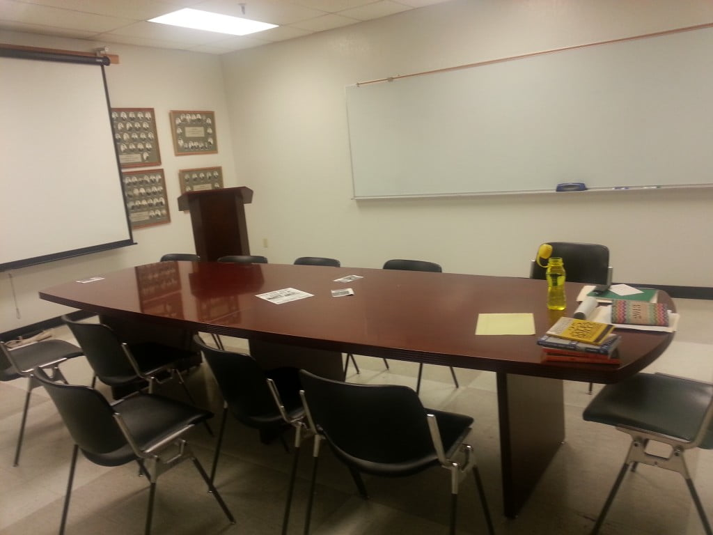 My classroom last year