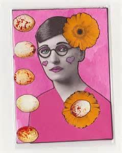 girl w flowers glasses