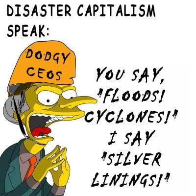 Disaster-capitalism-speak