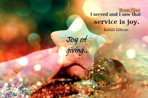 service-is-joy