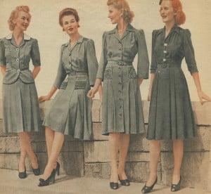 1940s+day+dress+-+war+years