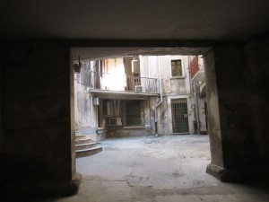 thru doorway