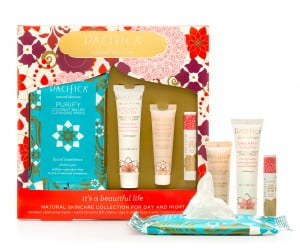 Wouldn't this natural skin care set make a wonderful gift for Mother's Day or any day.