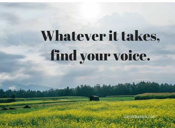 find-your-voice