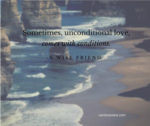 no-unconditional-love